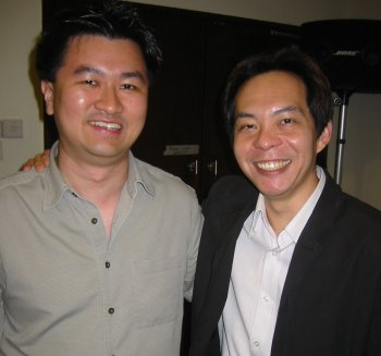 Ewen Chia and Andrew Wee
