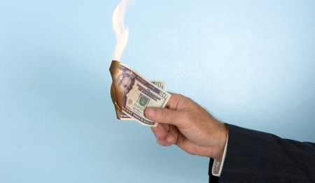 PayPal: Burn money