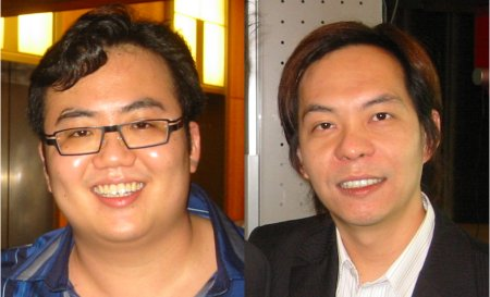 Jo Han Mok and Ewen Chia