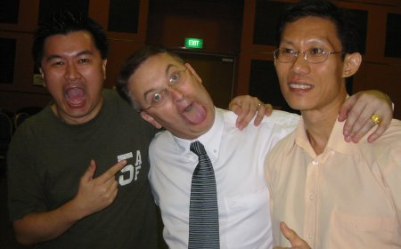 David Cavanagh and Andrew Wee
