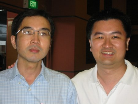 Ivan Wong and Andrew Wee