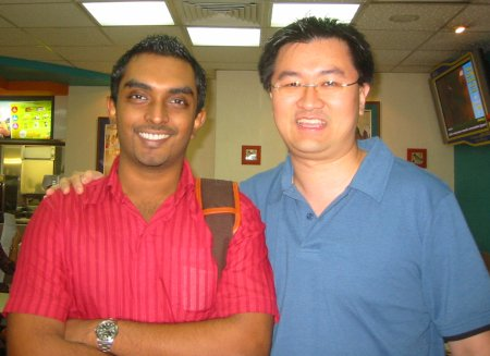 Gobala and Andrew Wee