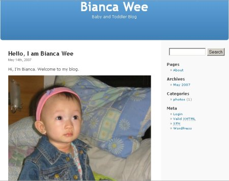 bianca wee baby and toddler blog