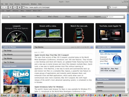apple safari browser