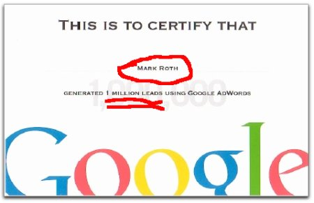 mark roth google adwords